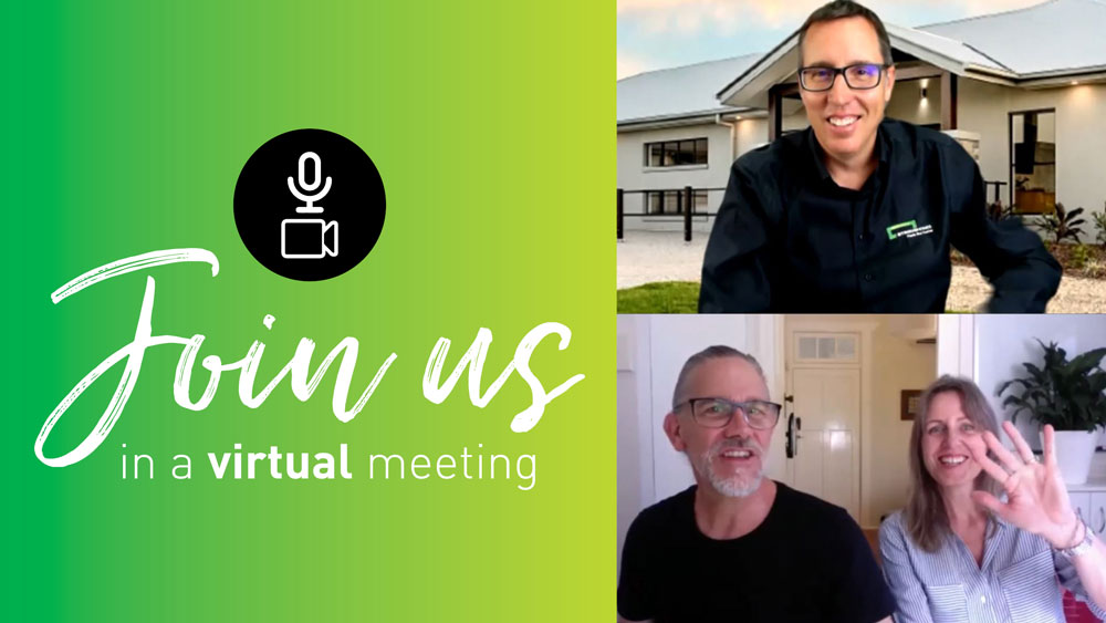 Join us for a Virtual meeting during COVID-19