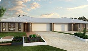 Chinchilla 396 Duplex Home Design