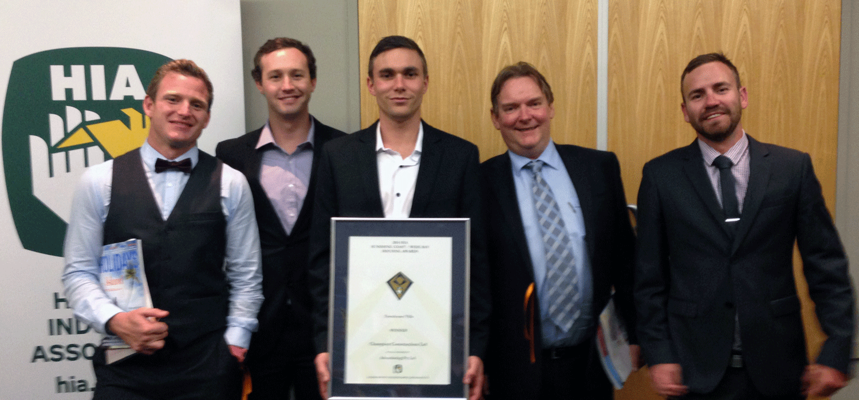 HIA Townhouse/Villa Development Award Winner Dan Chapman