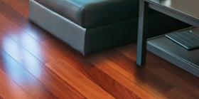 Timber veneer flooring