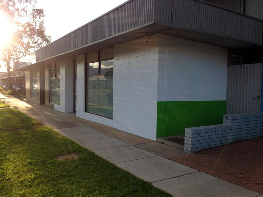 Stroud Homes Wagga Wagga display centre exterior
