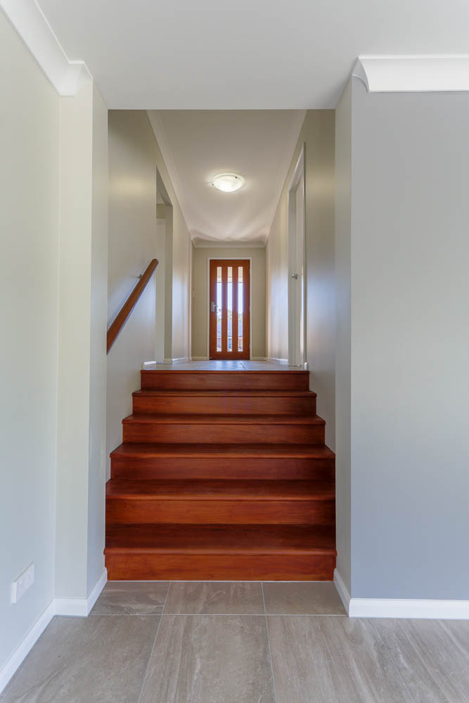 Split Level Home Dartmouth Ns Kitchen Upper Staircase: Building On A Sloping Block