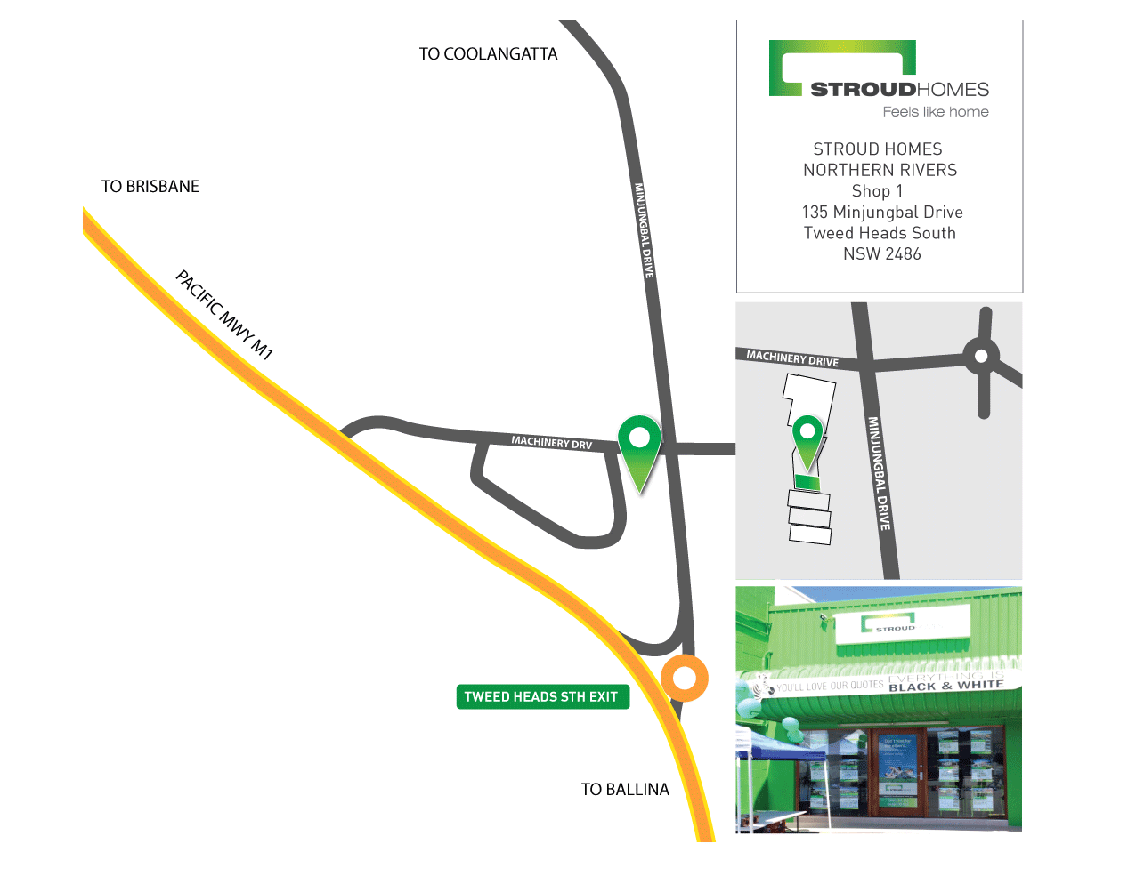 Northern Rivers Display Centre Location