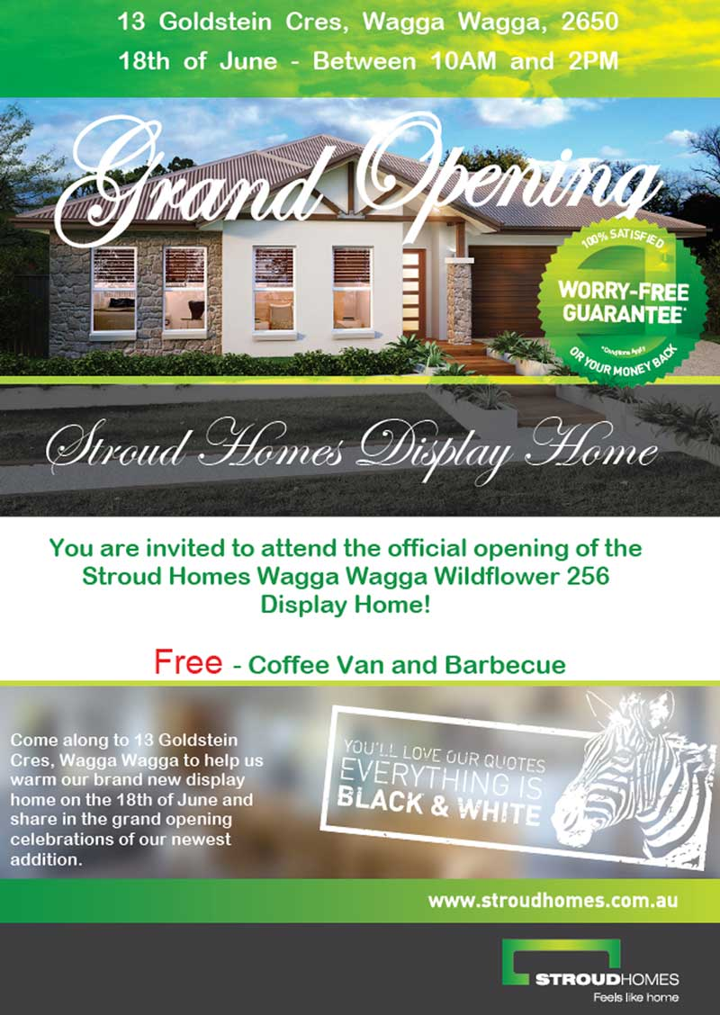 Wagga_Home_Builder_Display_opening