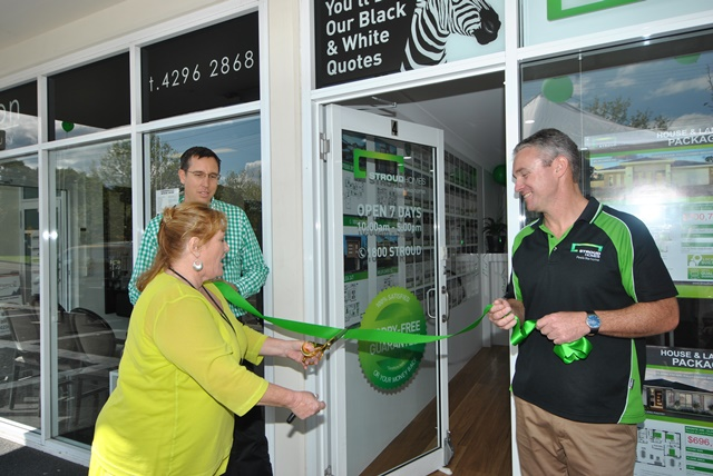Stroud Homes Wollongong opening