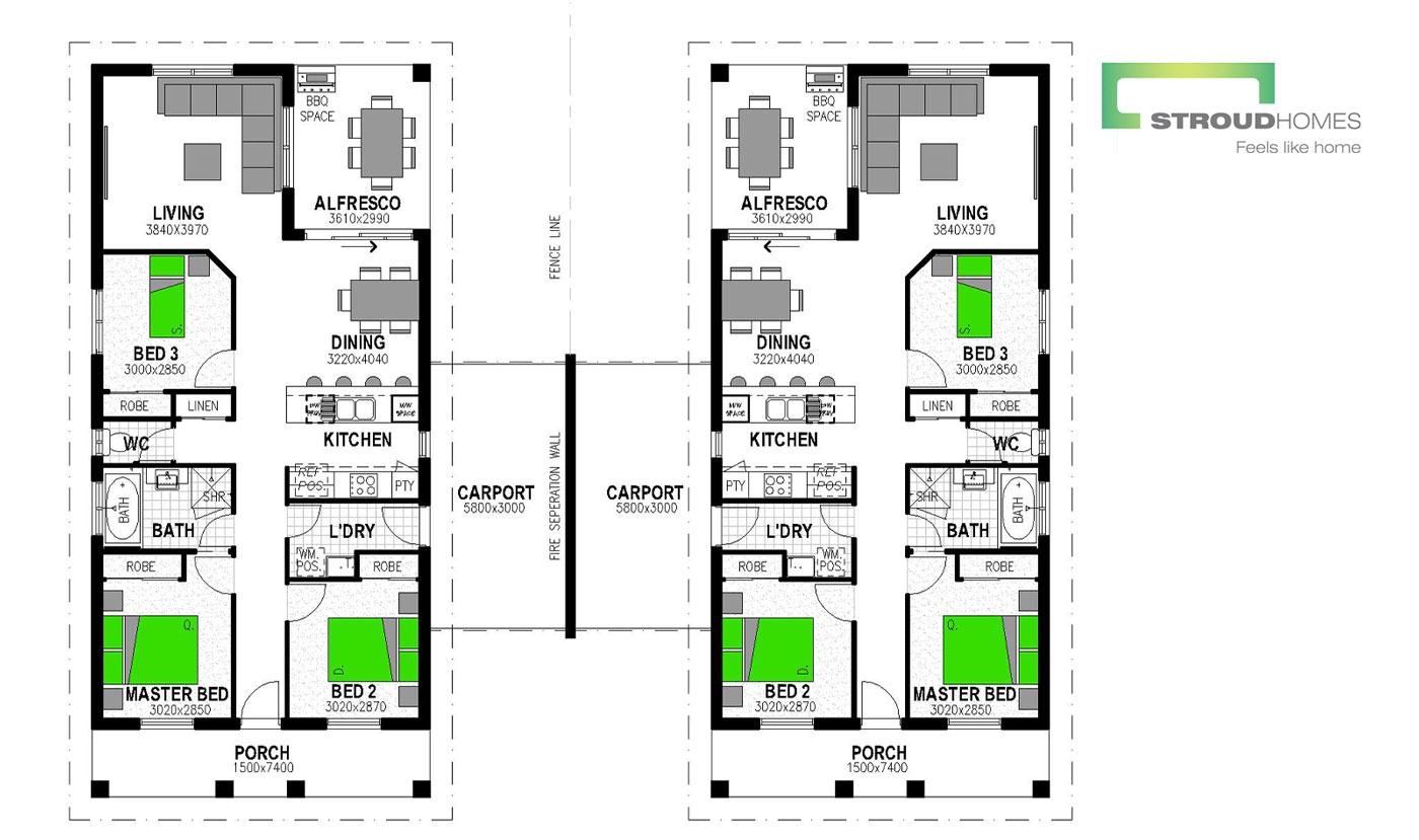 Duplex in Boonah