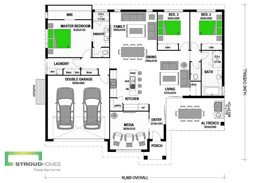 Elliott 210 Floor Plan