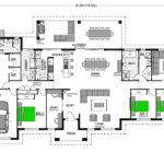 Kentucky 348 - 6 Bedroom Floor-Plan