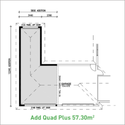 Quad Garage option