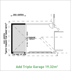 Triple Garage option