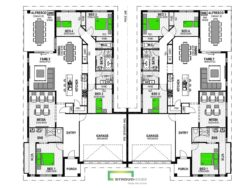 Amaroo 454 Duplex Floor Plan
