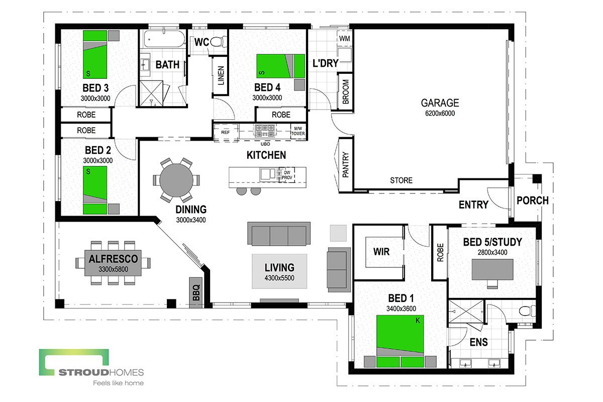 Aston 224 Floor Plan