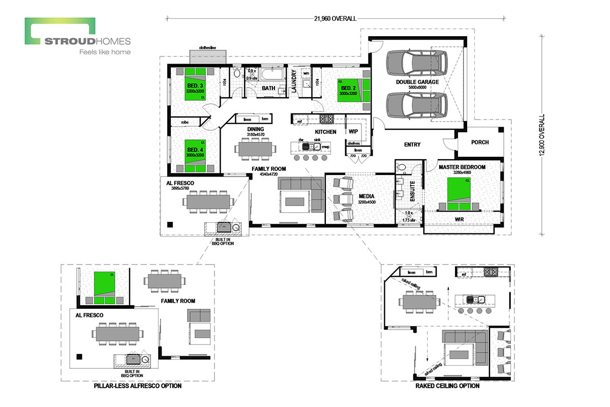 Avoca 247 Floor Plan
