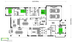 Bellmere 268 Floor Plan