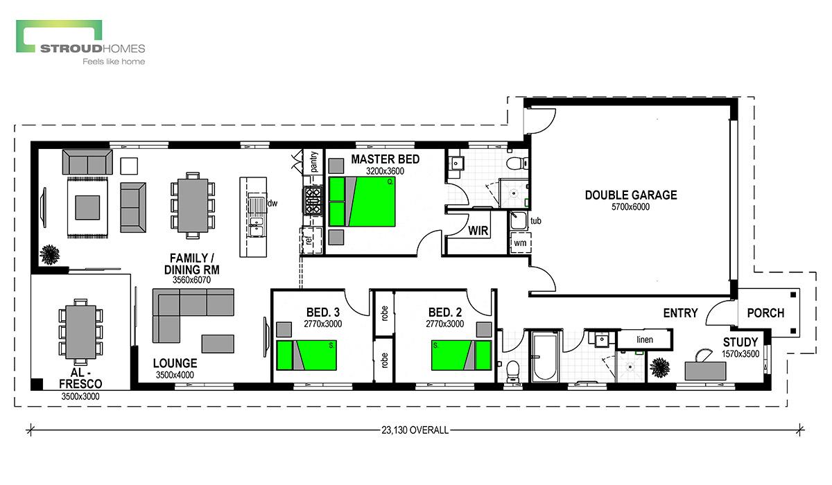 Belmont 172 Floor Plan