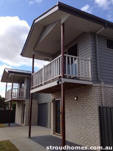 Stroud Homes built Brisbane unit complex