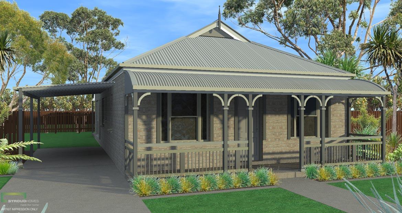 Byron 130 Affordable Home Design | Stroud Homes