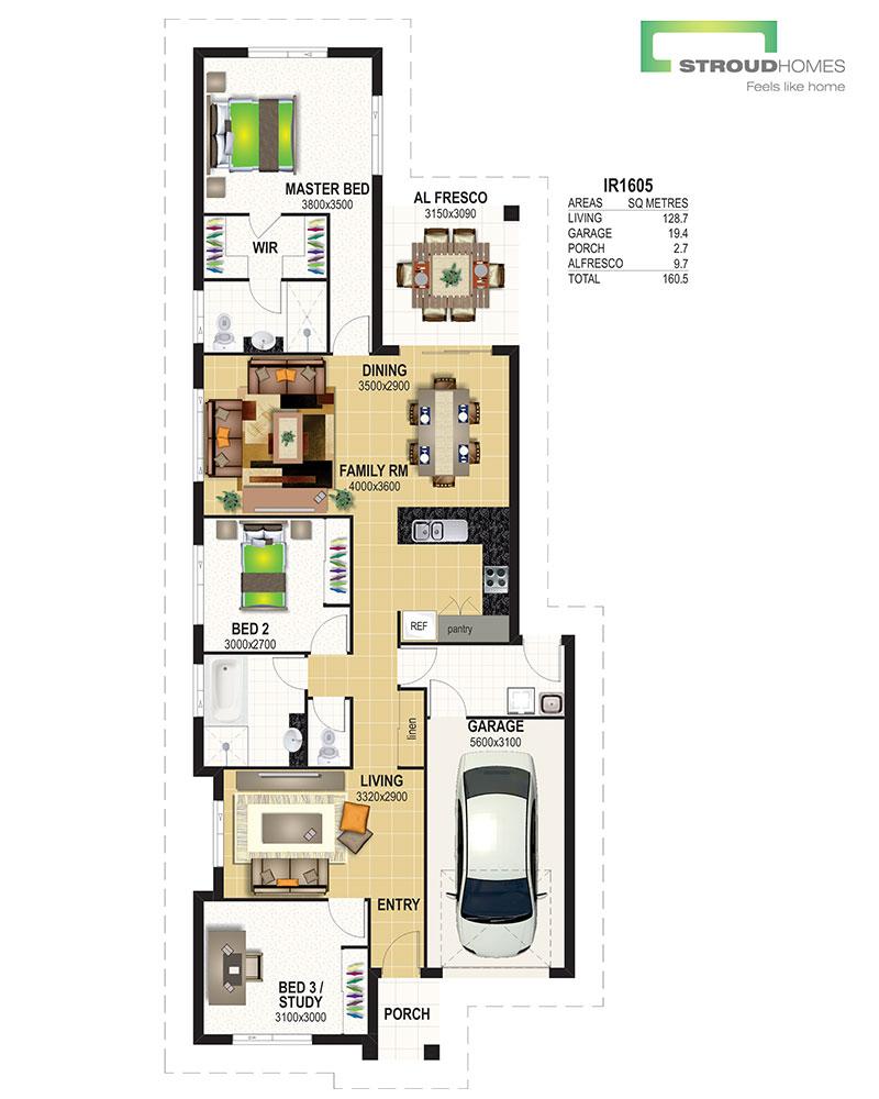 Cabarita 160 Floor Plan