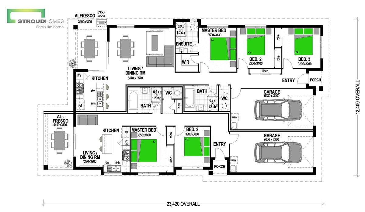 Chez Duo 252 Floor Plan