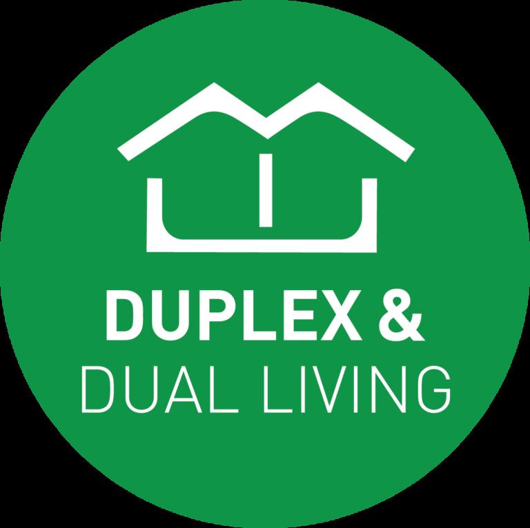 Duplex & Dual Living Logo