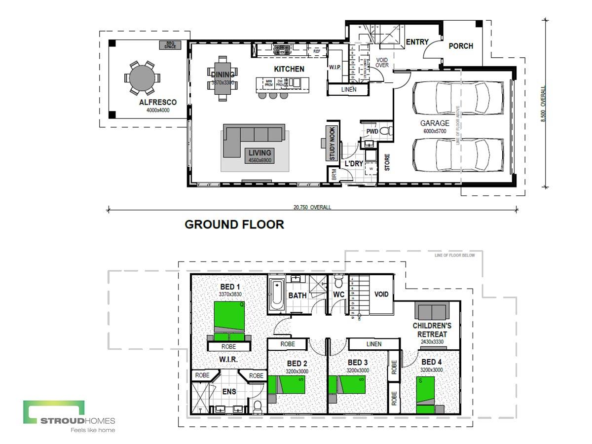 Fairview 240 Floor Plan