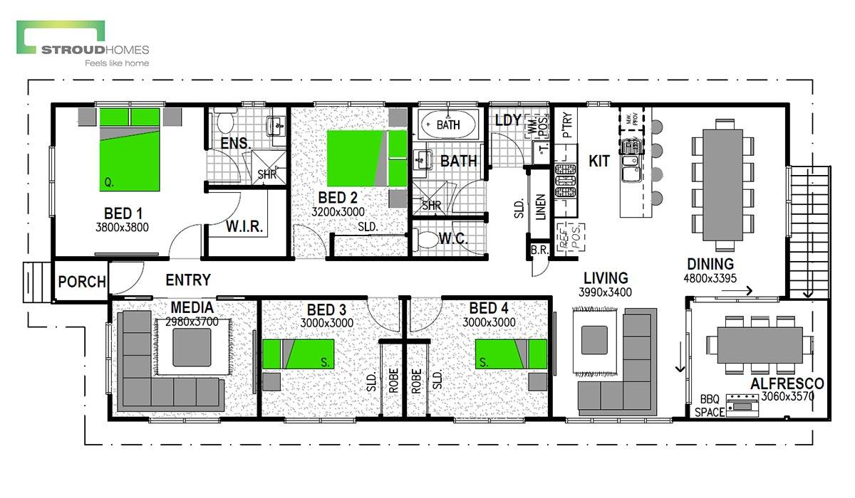 Hillcrest 147 Floor Plan