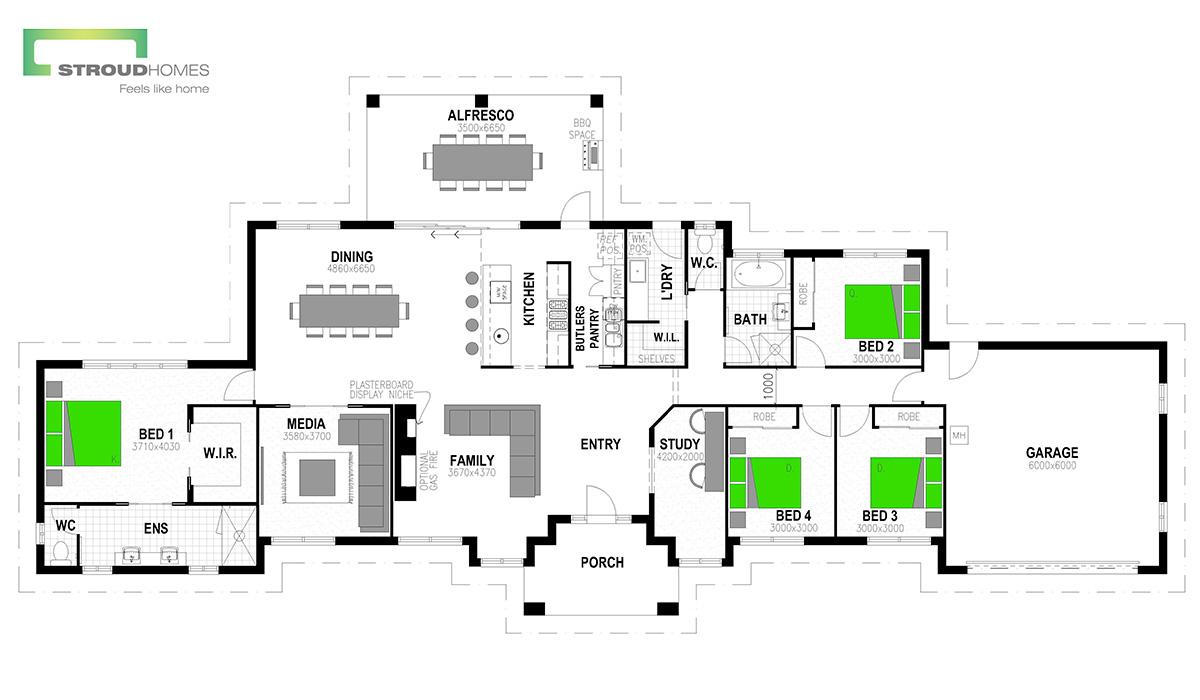 Hudson 278 Floor Plan