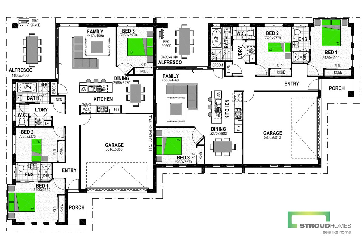 Jindabyne 336 Floor Plan