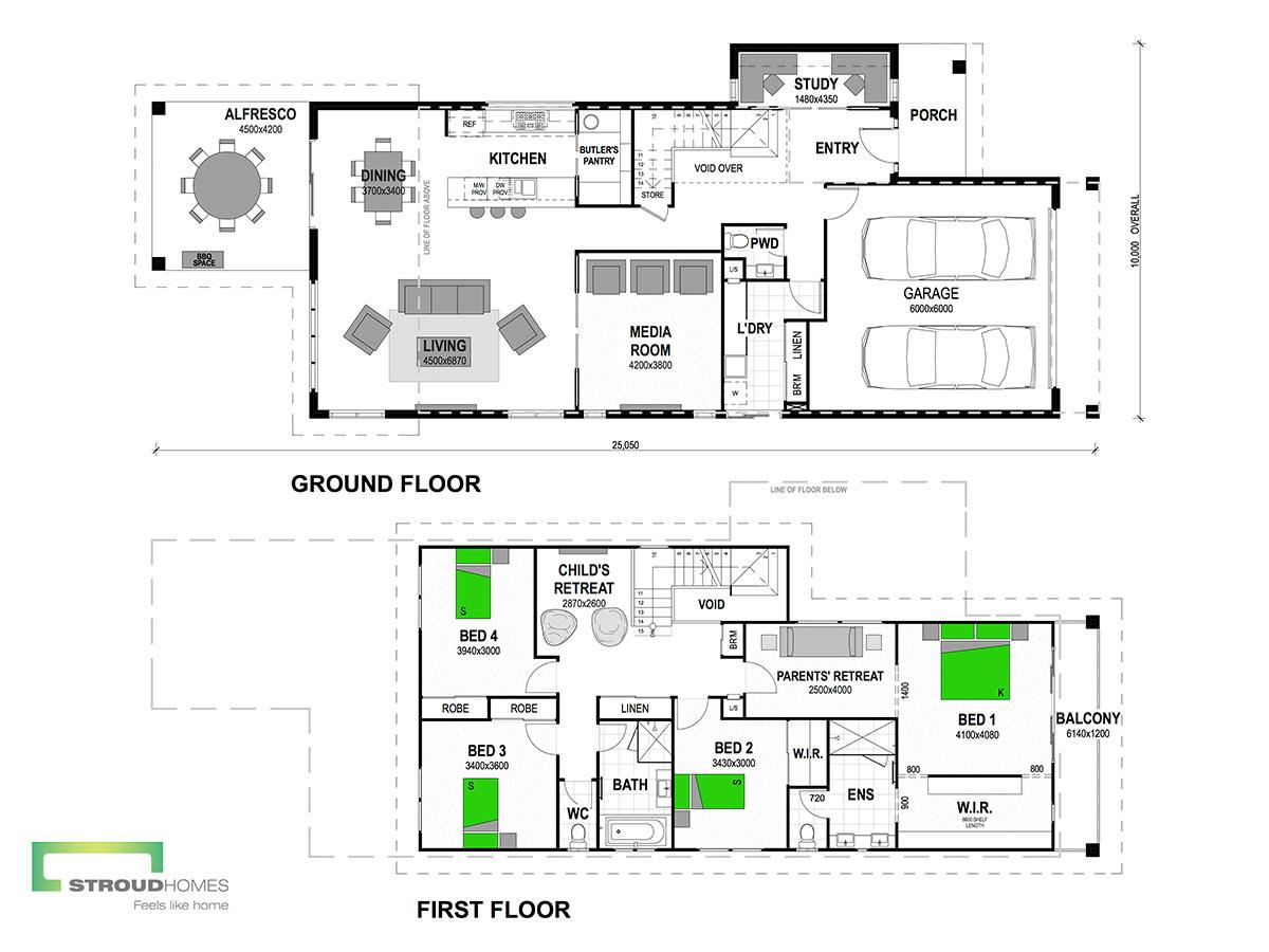 Lennox 325 Floor Plan