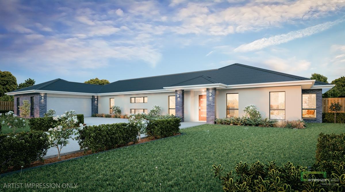 Montego 329 Home design Classic Façade
