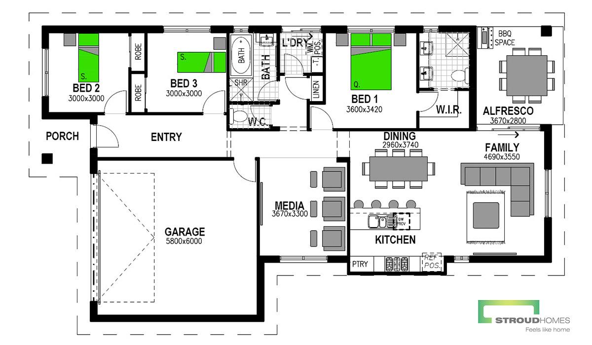 Paddington 176 Floor Plan