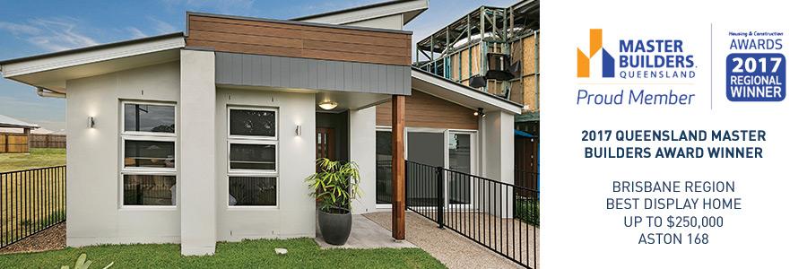 Stroud Homes Brisbane North  Master Builders Queensland Best Display Home up to $250,000