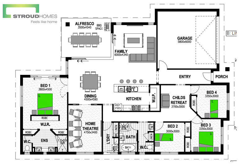 Stroud_Homes_Brisbane_West_Wildflower_256_Floor_Plan_QLD_MBA_Award_July_2017