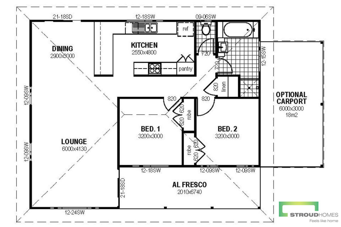 The-Alberta-Granny-Flat-Floor-Plan