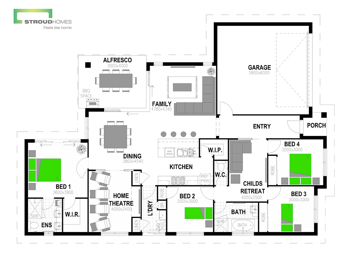 Wildflower 216 Floor Plan