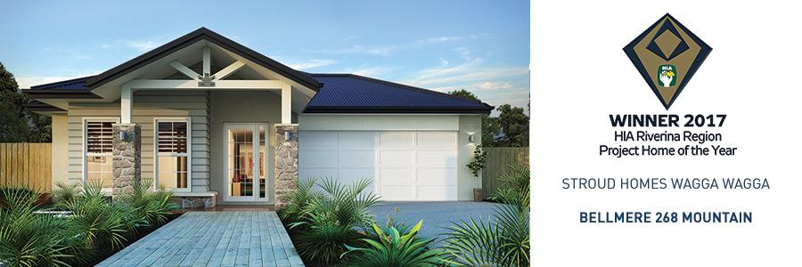 Stroud Homes Wagga Wagga HIA Award for the Bellmere 268