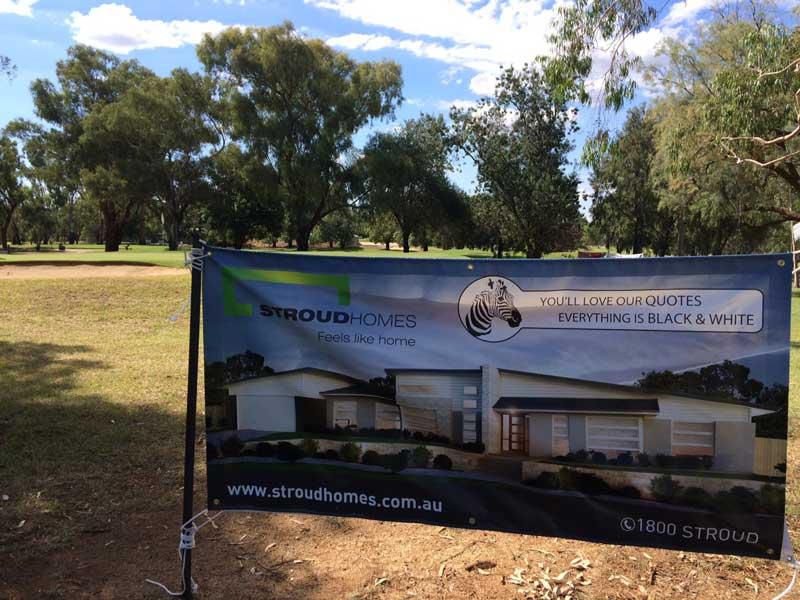 Stroud-Homes-Wagga-Wagga-Golf-Sign
