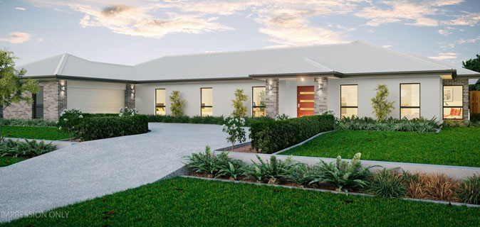 Stroud Homes Sunshine Coast HIA Award Winner Project Home Montego 287 image