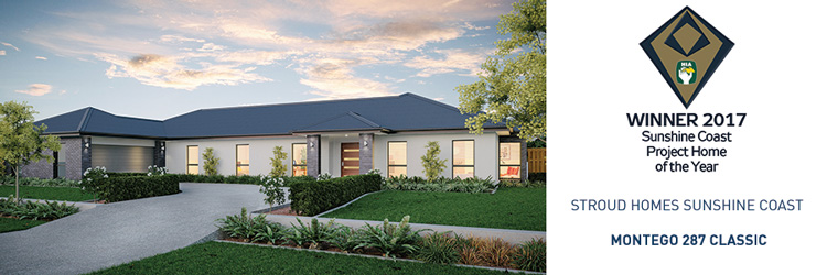 Stroud Homes Sunshine Coast HIA Award for the Montego 287
