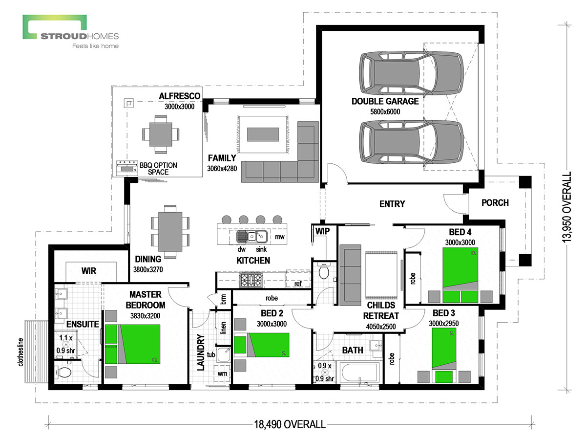 Wildflower 190 Alpine Floor Plan