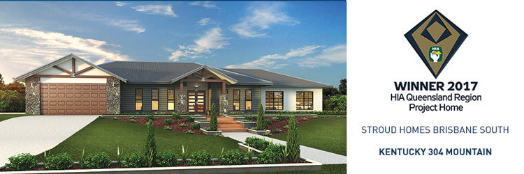 Stroud Homes Brisbane South HIA Award for the Kentucky 304