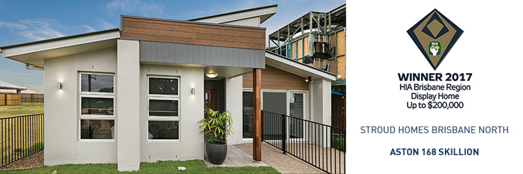 Stroud Homes Brisbane North HIA Award for the Aston 168