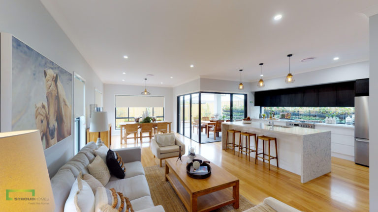 Stroud Homes Brisbane North Stocklands Builder Awards Winner – Sustainable Building Excellence – Ancora 280 Display Home image