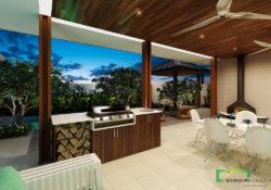 Outdoor Kitchen Option 1