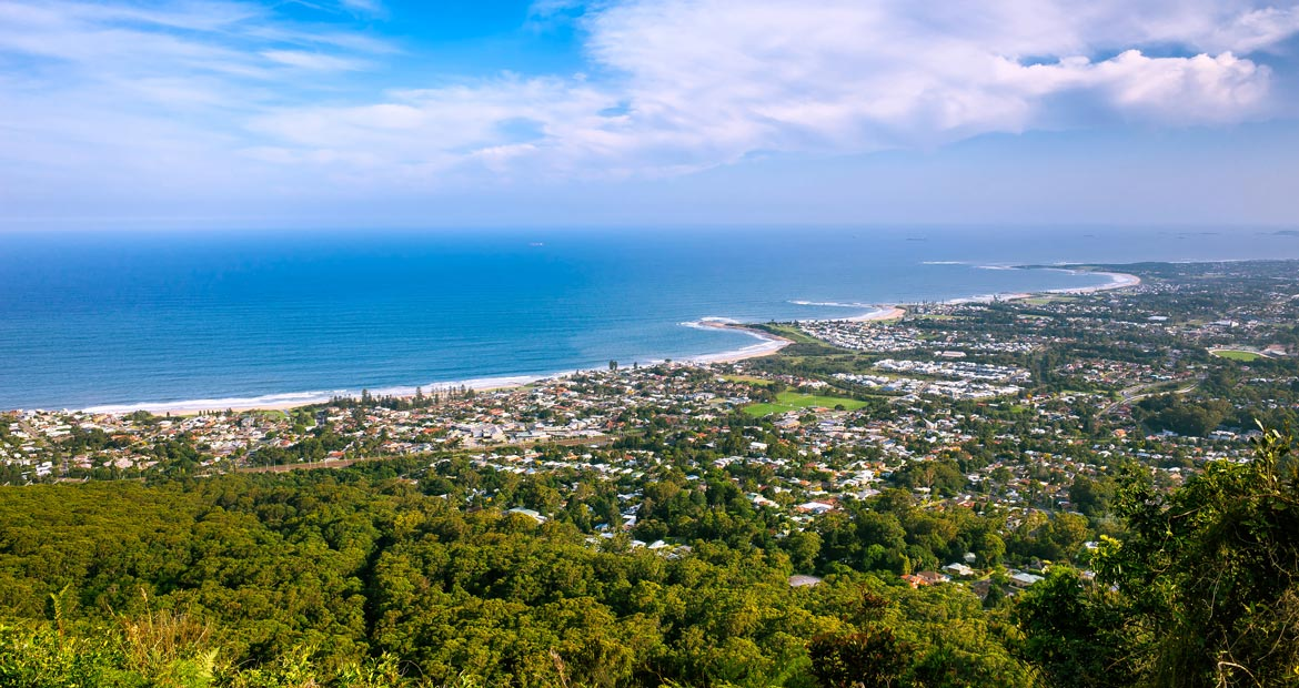 The city of Wollongong