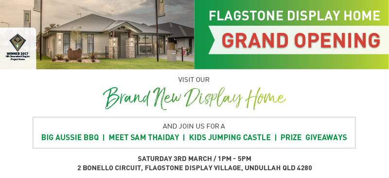 Stroud Homes Brisbane South Flagstone Display Home Grand Opening
