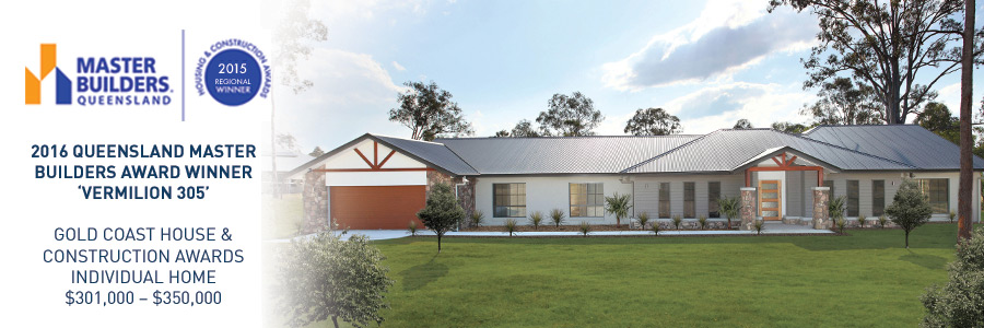 Stroud Homes Brisbane South MBA Award for the Vermilion 305