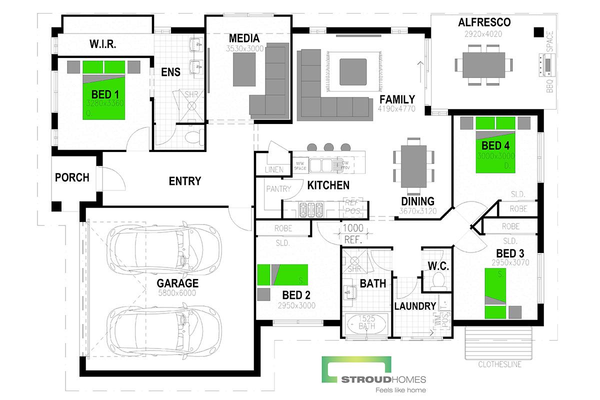 Avoca 198 Classic Floor Plan