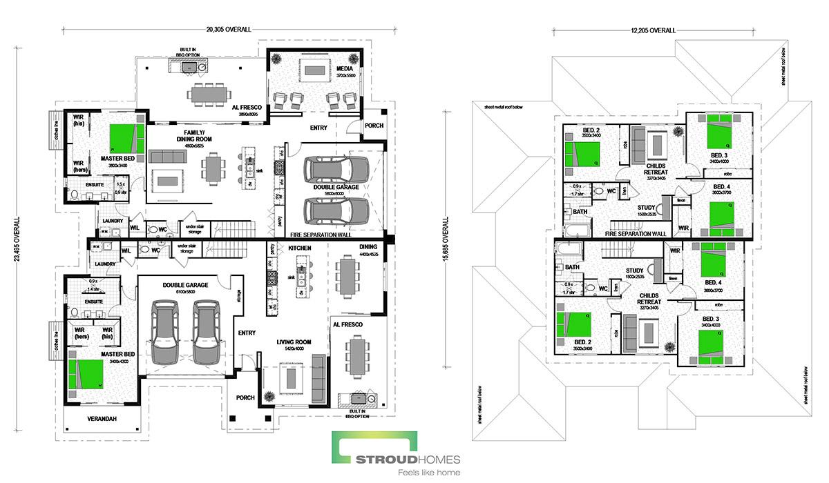 Burleigh 576 Classic Floor Plan