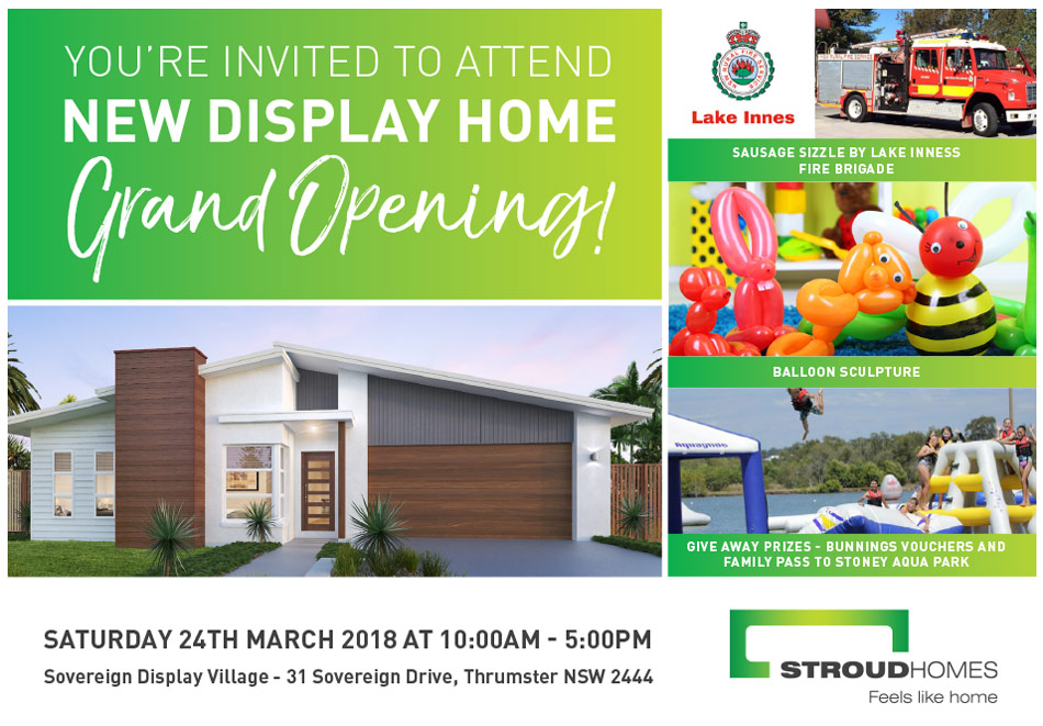 Display Home Coming To Port Macquarie | Stroud Homes
